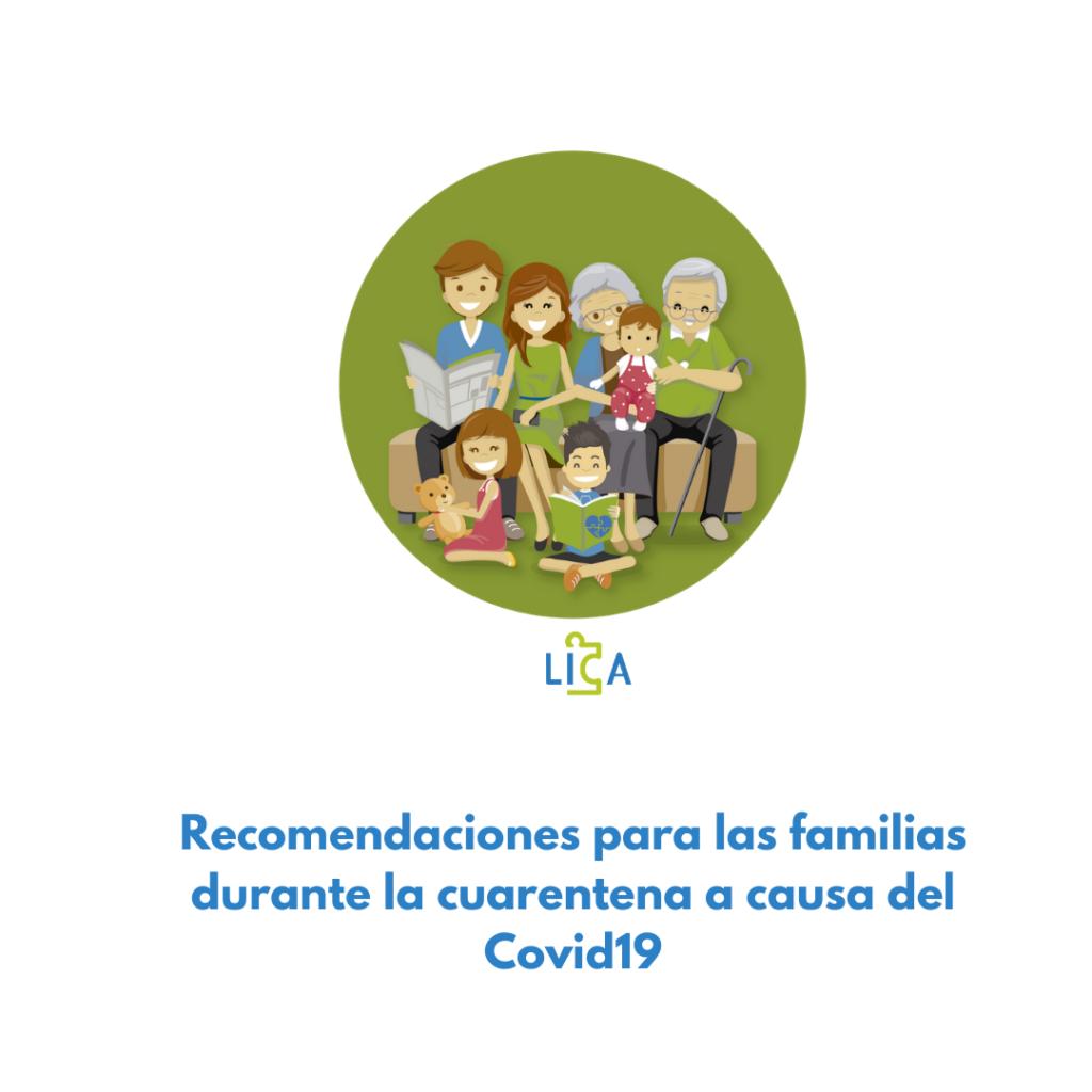 Recomendaciones familias Covid19